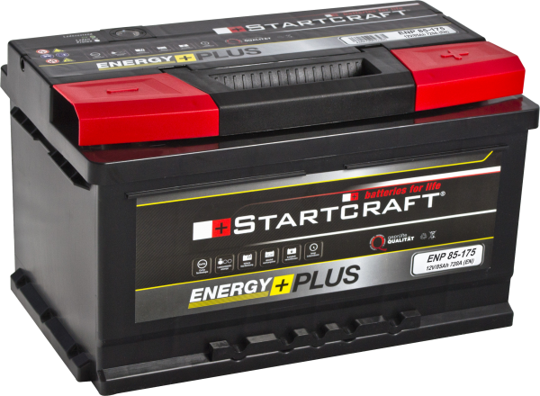 BATTERIE STARTCRAFT ENERGY +, 175, 12V / 85AH