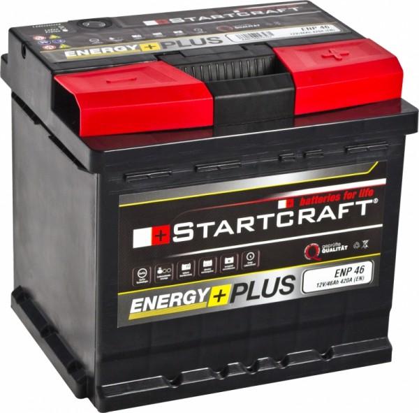 BATTERIE STARTCRAFT ENERGY +, 12V / 46AH