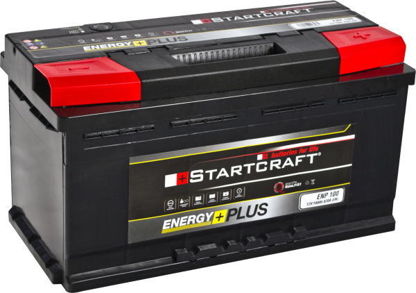BATTERIE STARTCRAFT ENERGY +, 12V / 100AH