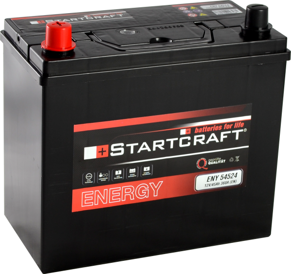 BATTERIE STARTCRAFT ENERGY, 12V / 45AH