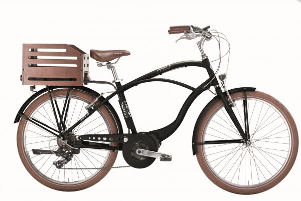 Mbm E Bike Maui Man 26 Zoll Schwarz Matt Rahmenhöhe 470mm