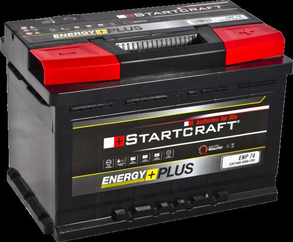 BATTERIE STARTCRAFT ENERGY +, 12V / 74AH