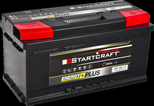 BATTERIE STARTCRAFT ENERGY +, 175, 12V / 100AH