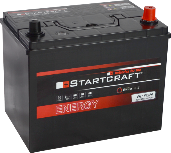 BATTERIE STARTCRAFT ENERGY, 12V / 70AH